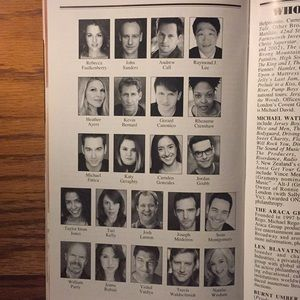 Playbill Other - Andy Karl Playbill Groundhog Day Opening Night New
